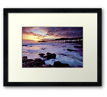 Catherine Hill Bay, NSW Framed Print