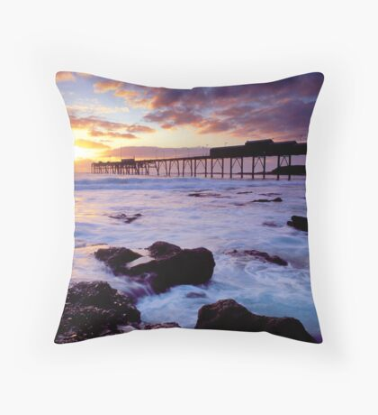 Catherine Hill Bay, NSW Throw Pillow