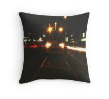 St Kilda Pinhole Throw Pillow