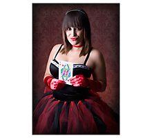 Queen of Hearts - Metaphors Photographic Print