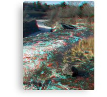 Hog's Back Falls in 3D Canvas Print