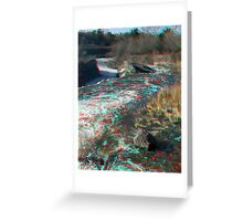 Hog's Back Falls in 3D Greeting Card