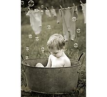 Wash Day Photographic Print