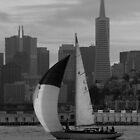SF Folk Boat / portrait by Jon  Johnson