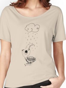 Poor bird © feathers & eggshells - wild new things are born  Women's Relaxed Fit T-Shirt