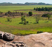 Ubirr rock view, Kakadu NP, NT by Speedy