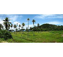an inspiring Saint Lucia landscape Photographic Print