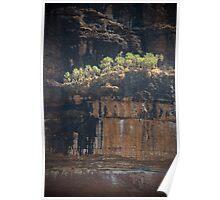 Nourlangie Rock cliffs, Kakadu NP, NT Poster