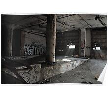 Abandoned Detroit 6 Poster