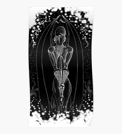 Caryatid Cthulhu Poster