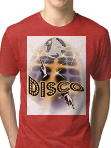 Disco Fever Inferno Tri-blend T-Shirt