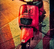 A1 motorcycle by Geraldine Lefoe