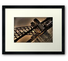 Angles and Light - Moods Of A City - The HDR Experience Framed Print