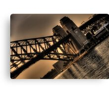 Angles and Light - Moods Of A City - The HDR Experience Canvas Print