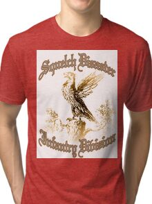 Squelch Disaster Infantry Division Tri-blend T-Shirt
