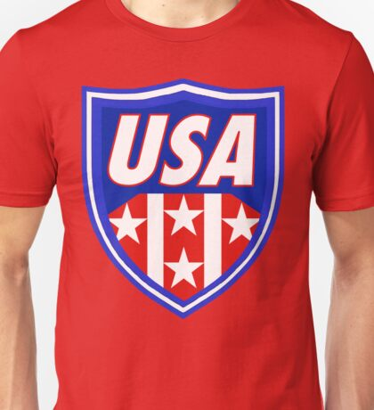 Usa Shield  Unisex T-Shirt