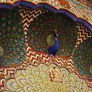 Peacock Arch, Jaipur Palace, Jaipur, Rajasthan, India by RIYAZ POCKETWALA