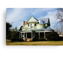Southern Home Canvas Print