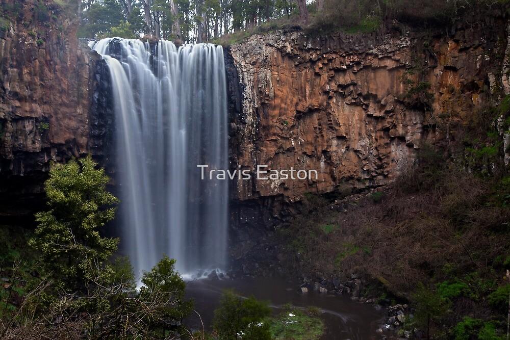 Trentham Falls (Victoria's highest?) by Travis Easton