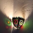 Moroccan lamp light by Christine Oakley