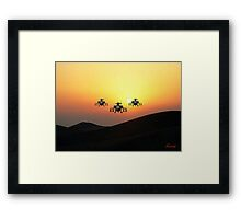 Apache Helicopter Framed Print