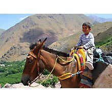 Pint sized adventures (Atlas Mountains, Morocco) Photographic Print