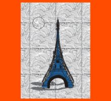 Eiffel Tower Blue Swing   Kids Clothes