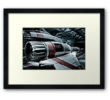 Beware of Blast Framed Print