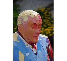 The Painted Man Photographic Print