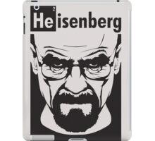 Breaking Bad Heisenberg Shirt 3 iPad Case/Skin