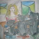 Goldilocks and The Three Bears by Anthea  Slade