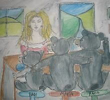 Goldilocks and The Three Bears by Anthea  Slade