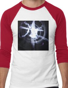 Cross light drawing  Men's Baseball ¾ T-Shirt