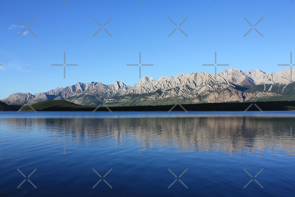 Reflecting Mountains by Alyce Taylor