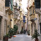 Streets of Birgu by dozzam