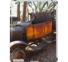 abandon old truck iPad Case/Skin