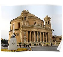 Mosta Dome Poster