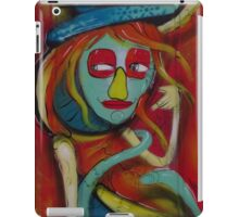 A Very Special Lady ( Portrait ) iPad Case/Skin