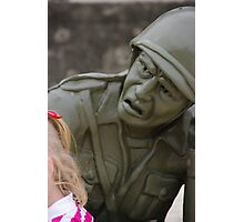 Toy Soldier Photographic Print