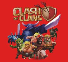 clash of clans Kids Clothes