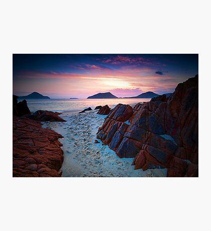 Three Peaks Photographic Print