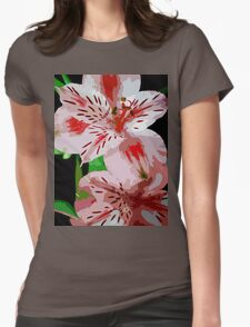 Red and white flowers. T-Shirt