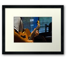 The Hands of a Master Framed Print
