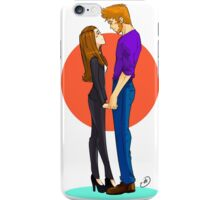 Jeff and Annie FOREVER iPhone Case/Skin