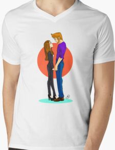 Jeff and Annie FOREVER Mens V-Neck T-Shirt
