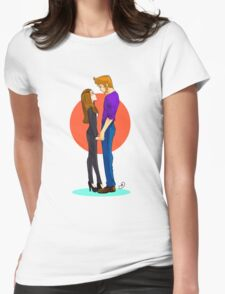 Jeff and Annie FOREVER Womens Fitted T-Shirt