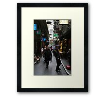 Red Bag Framed Print