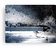 Starlight and Ice Canvas Print
