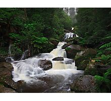 Keppel Falls after heavy rain. Photographic Print