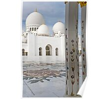 Sheikh Zayed Grand Mosque. Poster